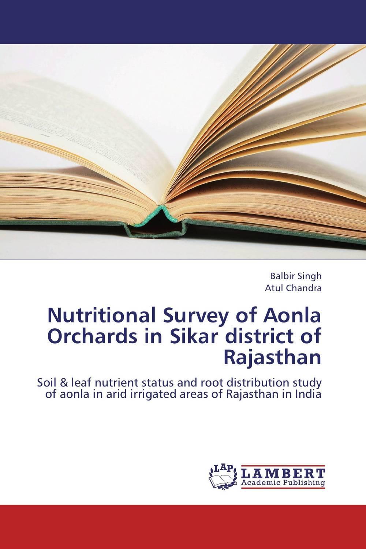 Balbir Singh and Atul Chandra Nutritional Survey of Aonla Orchards in Sikar district of Rajasthan ranbir singh and amarjit singh status of haryana tourism