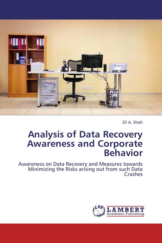 Analysis of Data Recovery Awareness and Corporate Behavior