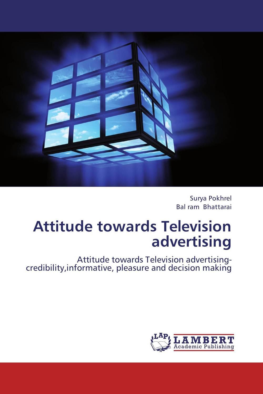 Attitude towards Television advertising