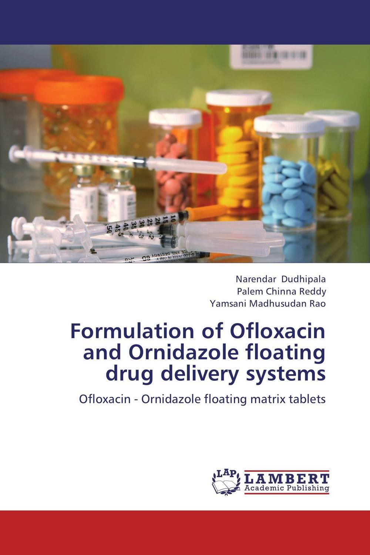 Formulation of Ofloxacin and Ornidazole floating drug delivery systems