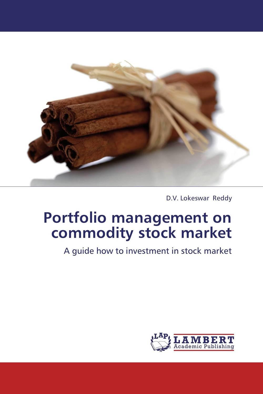 Portfolio management on commodity stock market