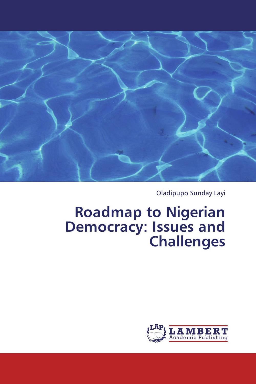 Oladipupo Sunday Layi Roadmap to Nigerian Democracy: Issues and Challenges сковороды tvs сковорода tvs mineralia 30 см