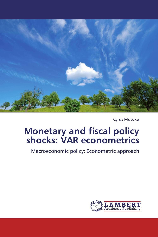 Monetary and fiscal policy shocks: VAR econometrics