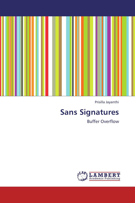 Sans Signatures