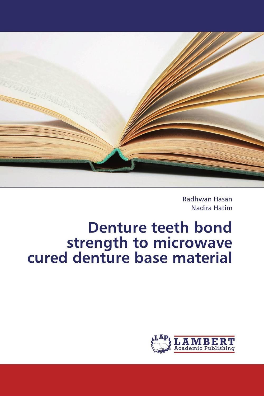 Denture teeth bond strength to microwave cured denture base material