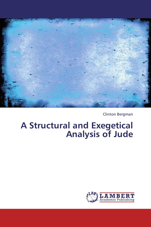 Clinton Bergman A Structural and Exegetical Analysis of Jude rapala bergman bwbo40 sk