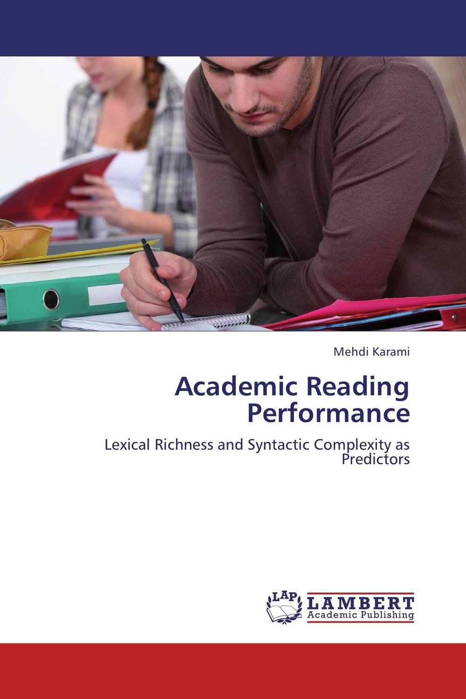 Academic Reading Performance