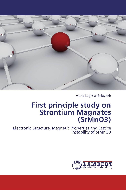 First principle study on Strontium Magnates (SrMnO3)