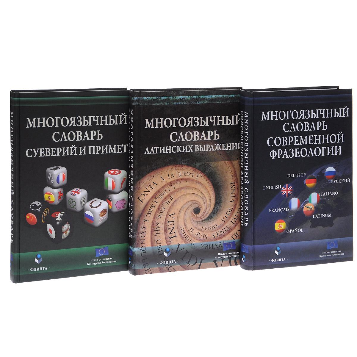 Многоязычный словарь (комплект из 3 книг)