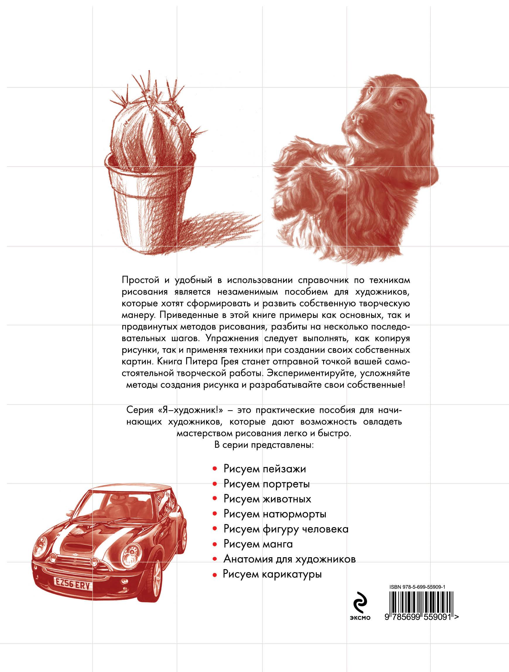 Техники рисования ( 978-5-699-55909-1 )