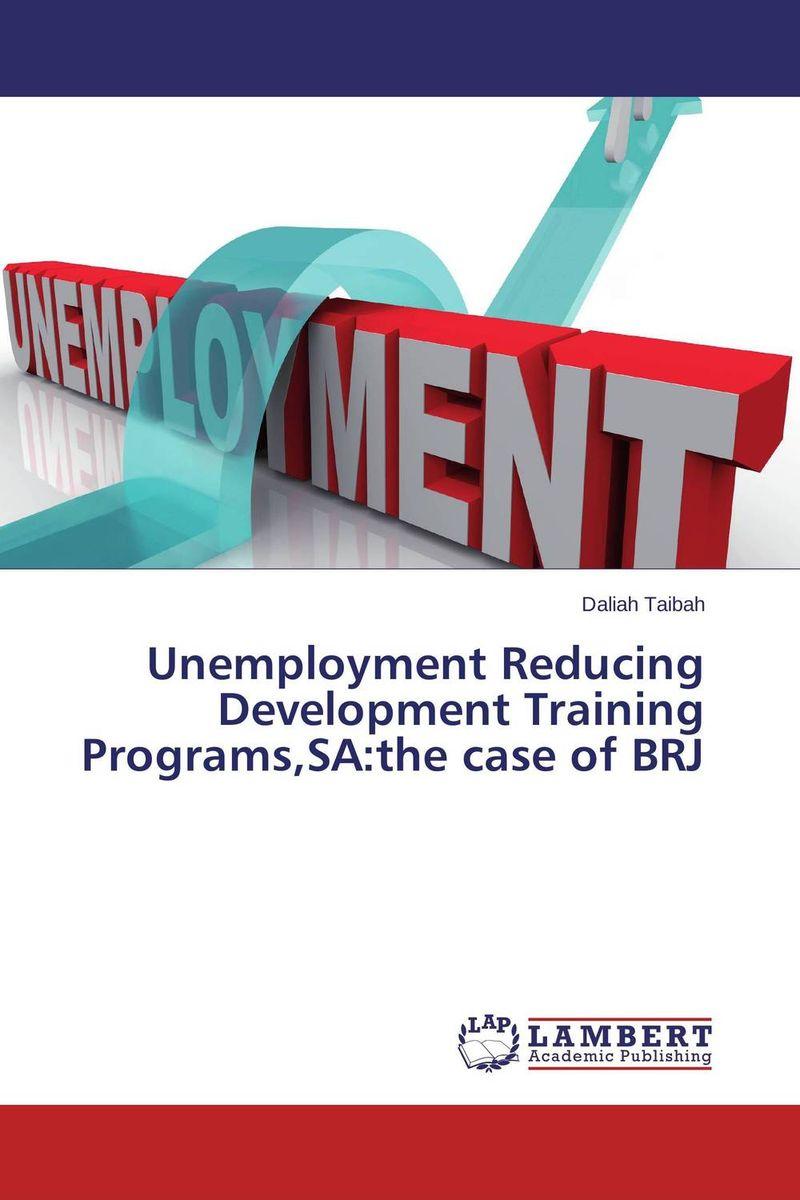 Unemployment Reducing Development Training Programs,SA:the case of BRJ