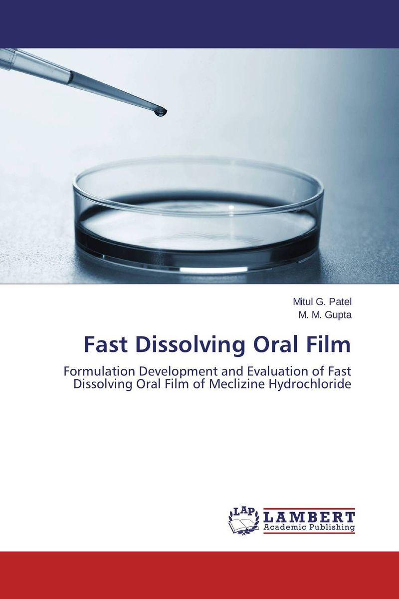 Fast Dissolving Oral Film