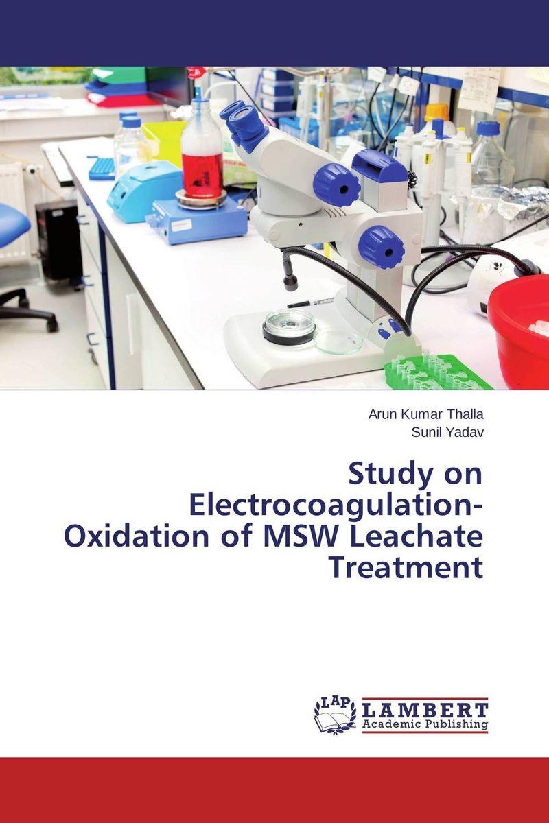 Arun Kumar Thalla and Sunil Yadav Study on Electrocoagulation-Oxidation of MSW Leachate Treatment jyoti yadav arvind kumar and lalit kumar molecular characterization of lactamase e coli and klebsiella spp