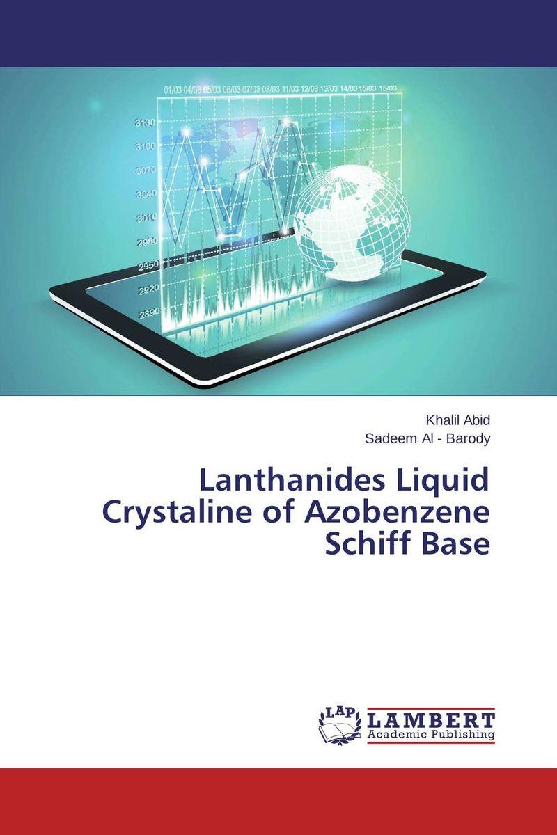 Khalil Abid and Sadeem Al - Barody Lanthanides Liquid Crystaline of Azobenzene Schiff Base