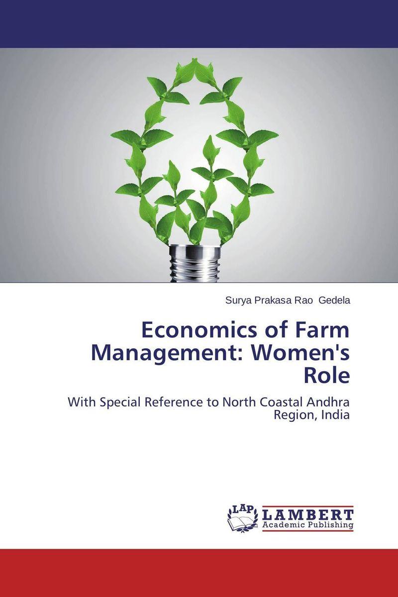 Economics of Farm Management: Women's Role