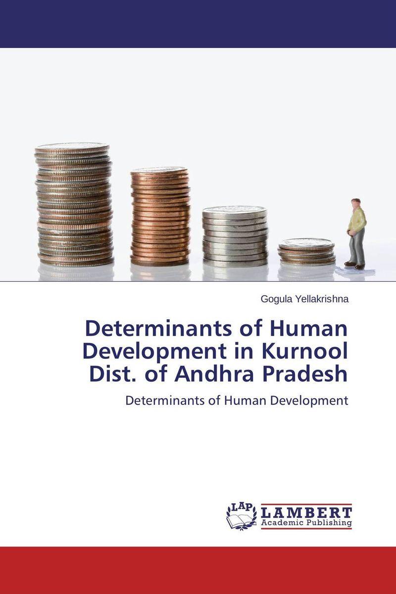 Determinants of Human Development in Kurnool Dist. of Andhra Pradesh