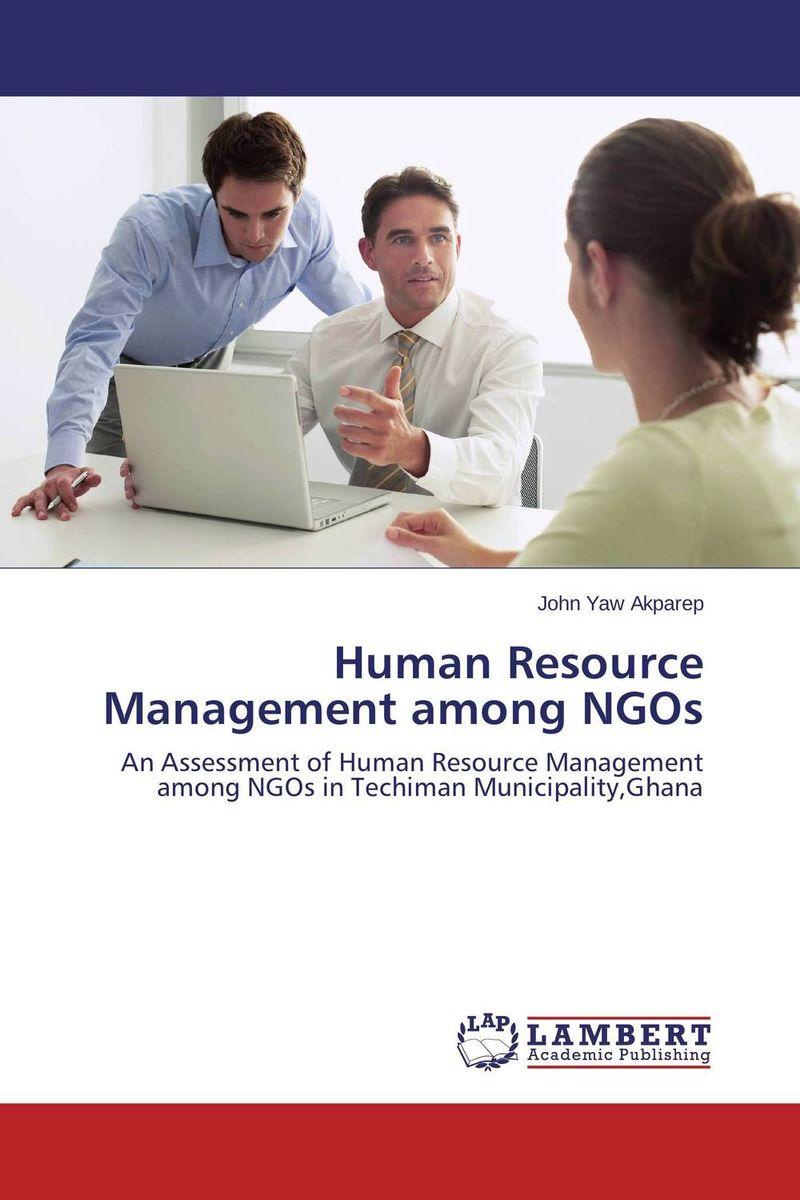 Human Resource Management among NGOs