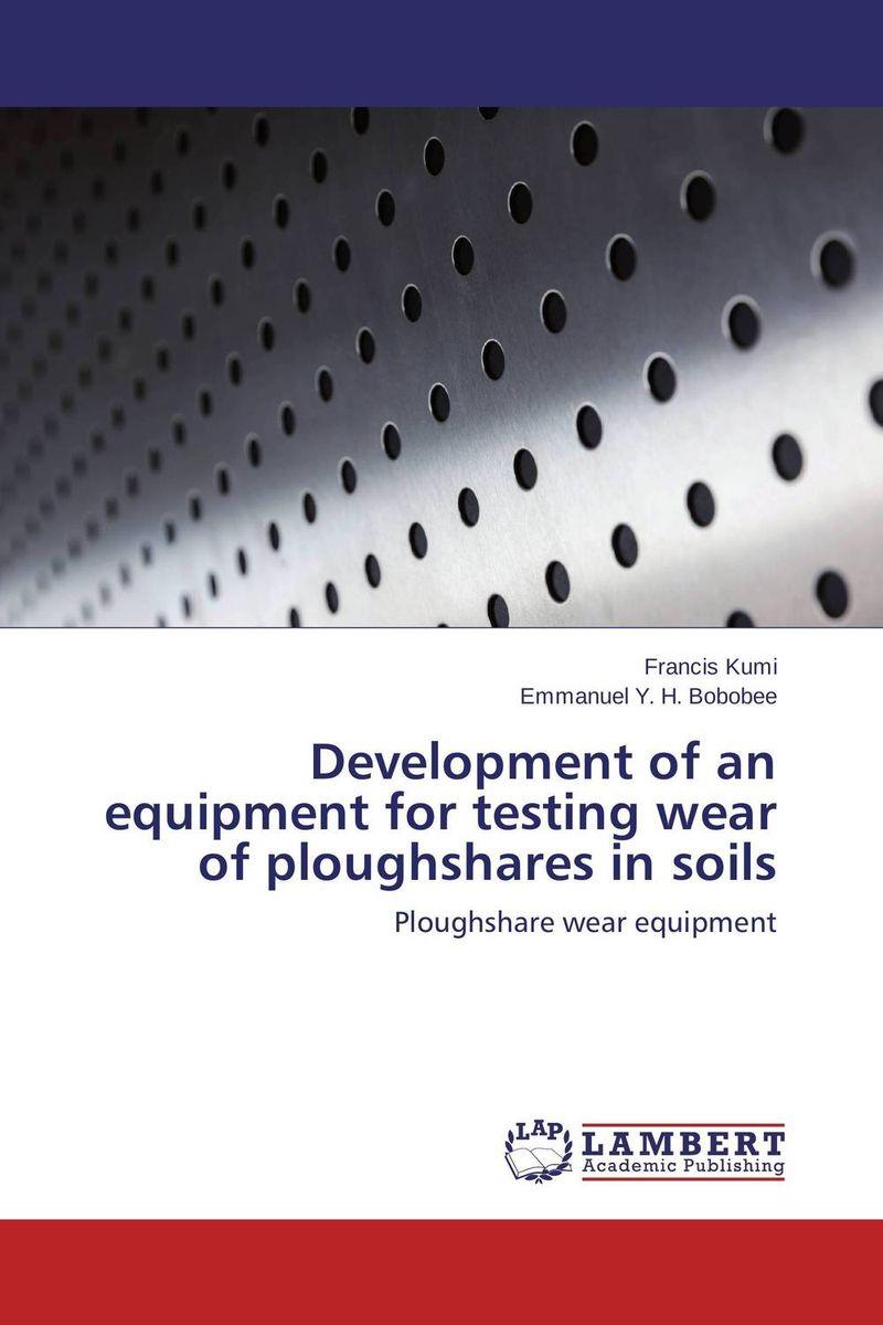 Development of an equipment for testing wear of ploughshares in soils