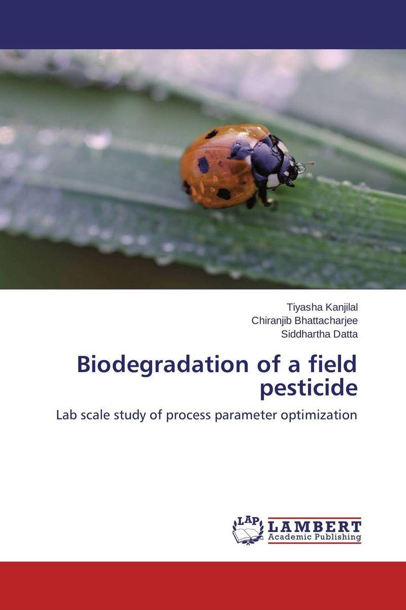 Biodegradation of a field pesticide