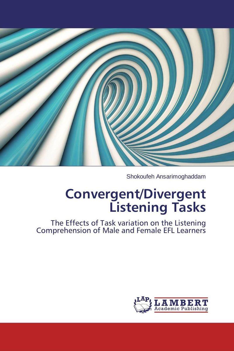 Convergent/Divergent Listening Tasks