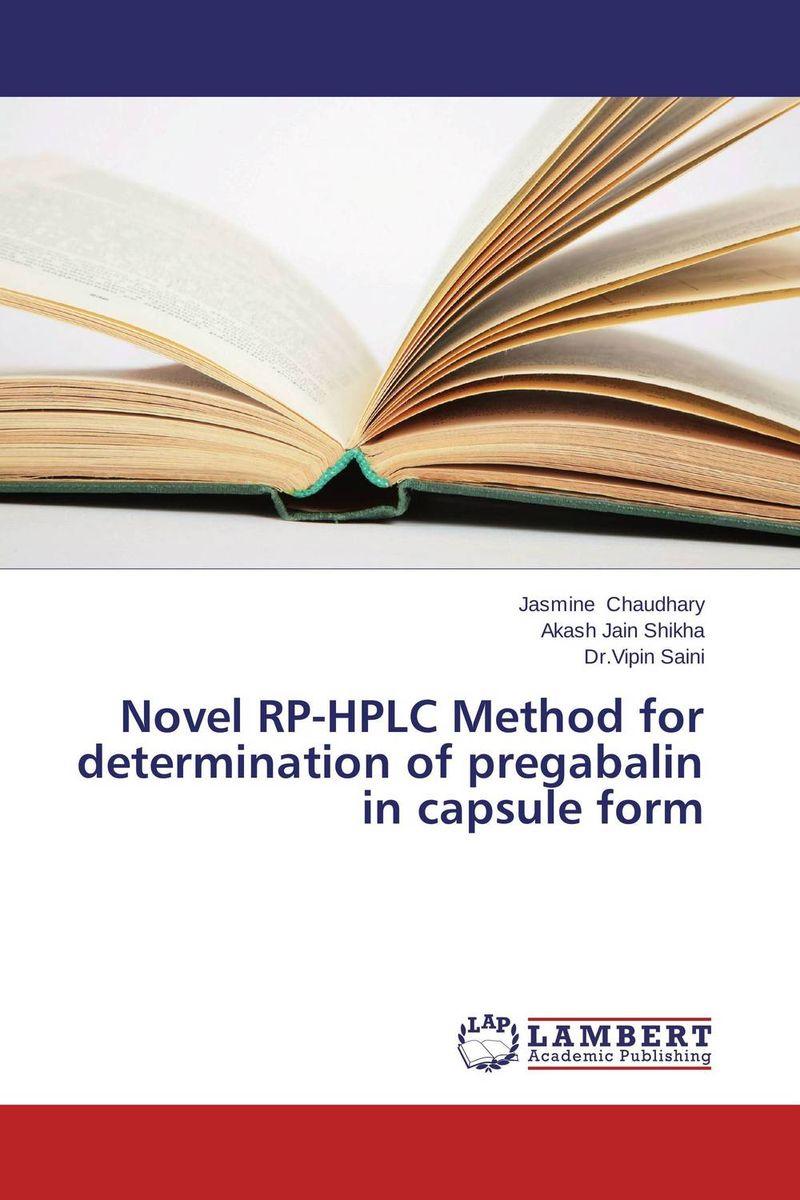 Novel RP-HPLC Method for determination of pregabalin in capsule form