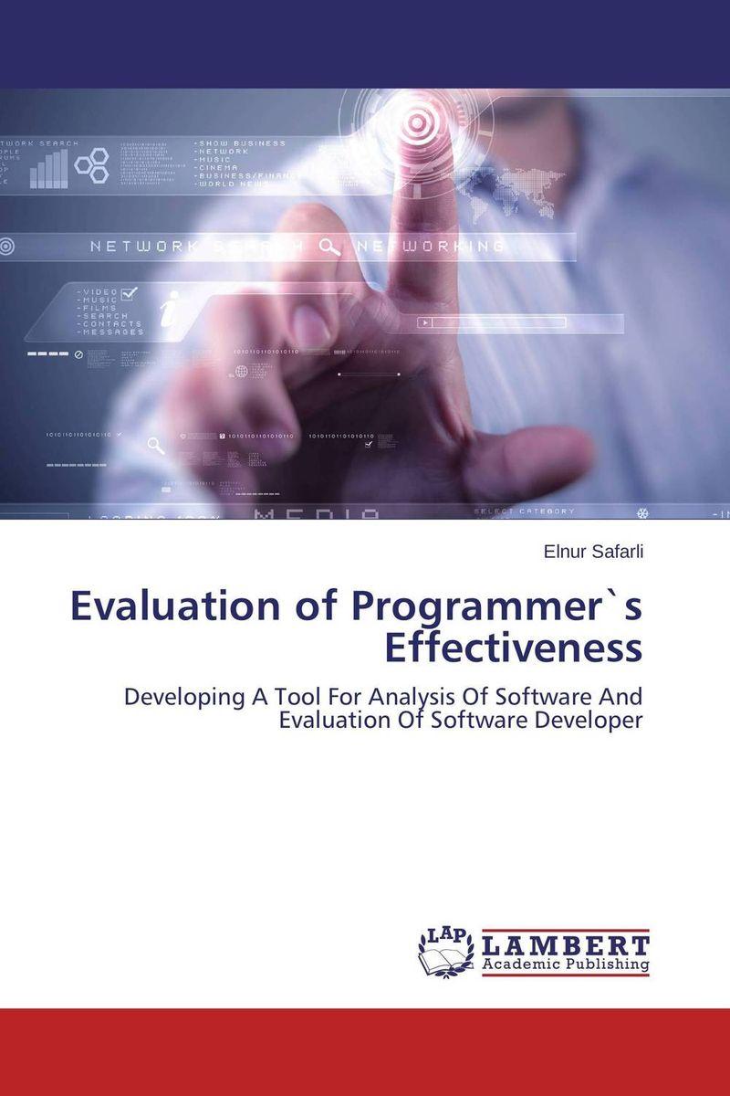 Evaluation of Programmer`s Effectiveness