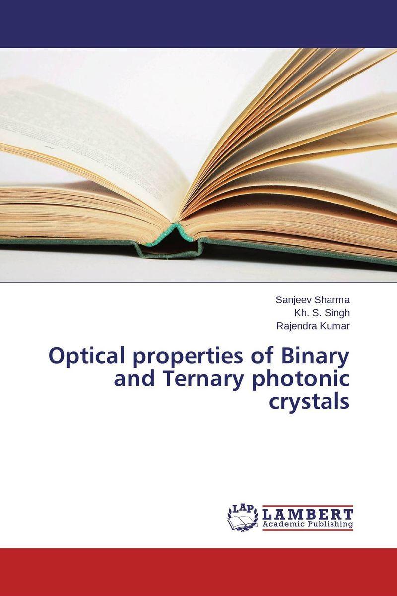 Sanjeev Sharma,Kh. S. Singh and Rajendra Kumar Optical properties of Binary and Ternary photonic crystals krishen kumar bamzai and vishal singh perovskite ceramics preparation characterization and properties