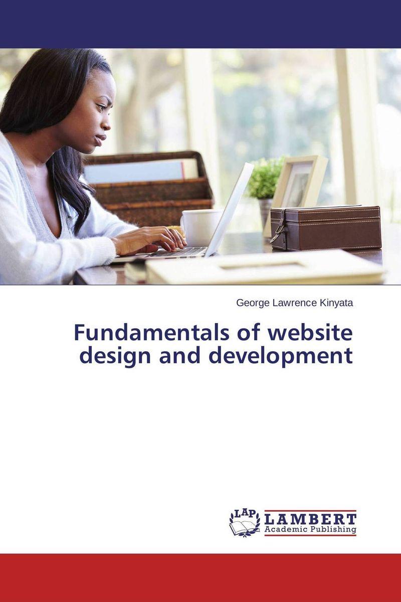 Fundamentals of website design and development