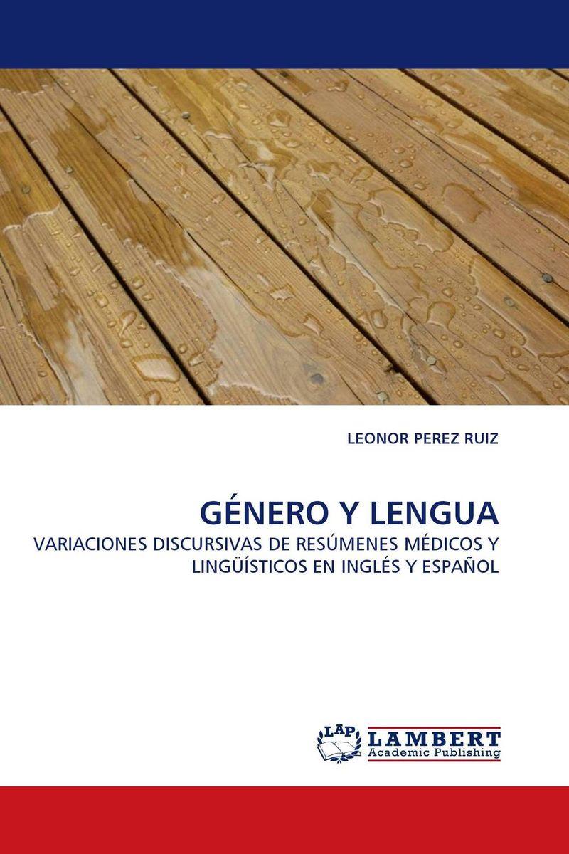 GENERO Y LENGUA
