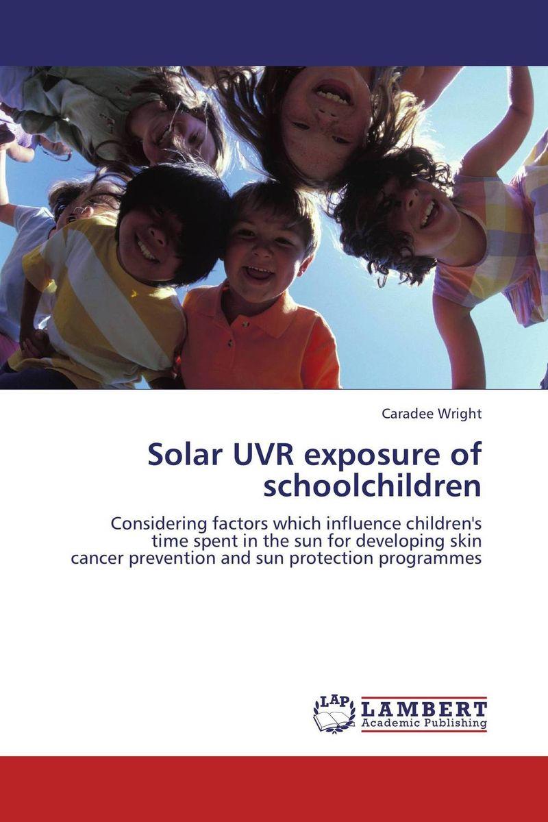 Solar UVR exposure of schoolchildren