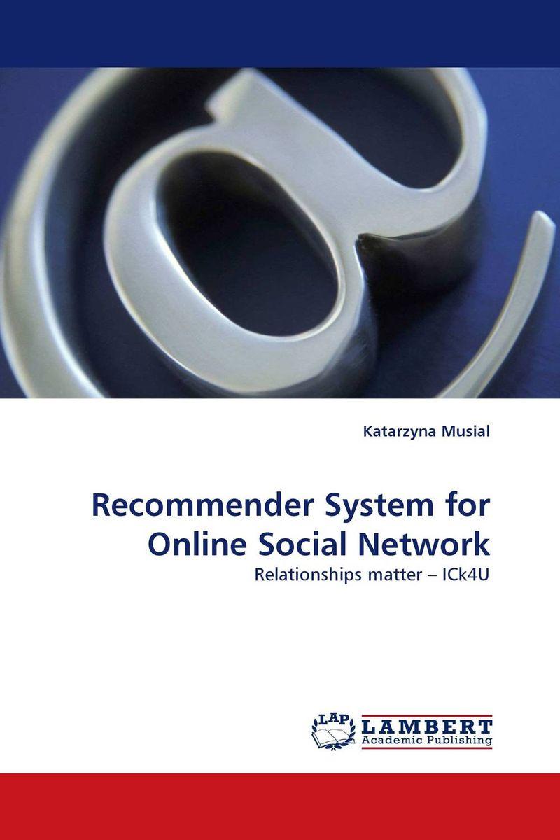 Recommender System for Online Social Network