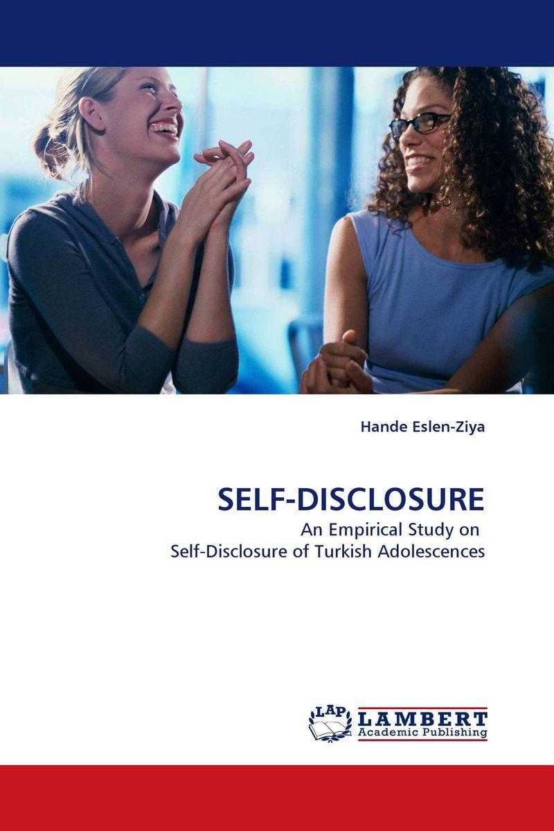 SELF-DISCLOSURE