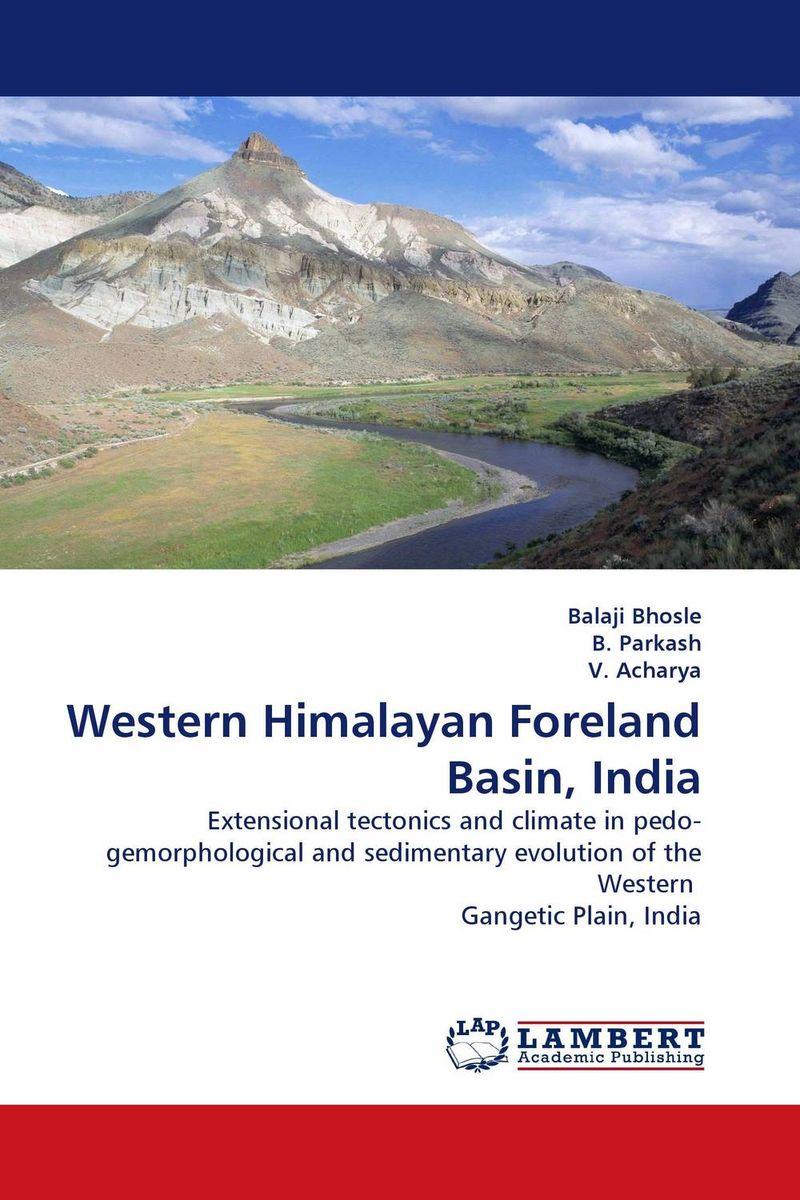 Western Himalayan Foreland Basin, India