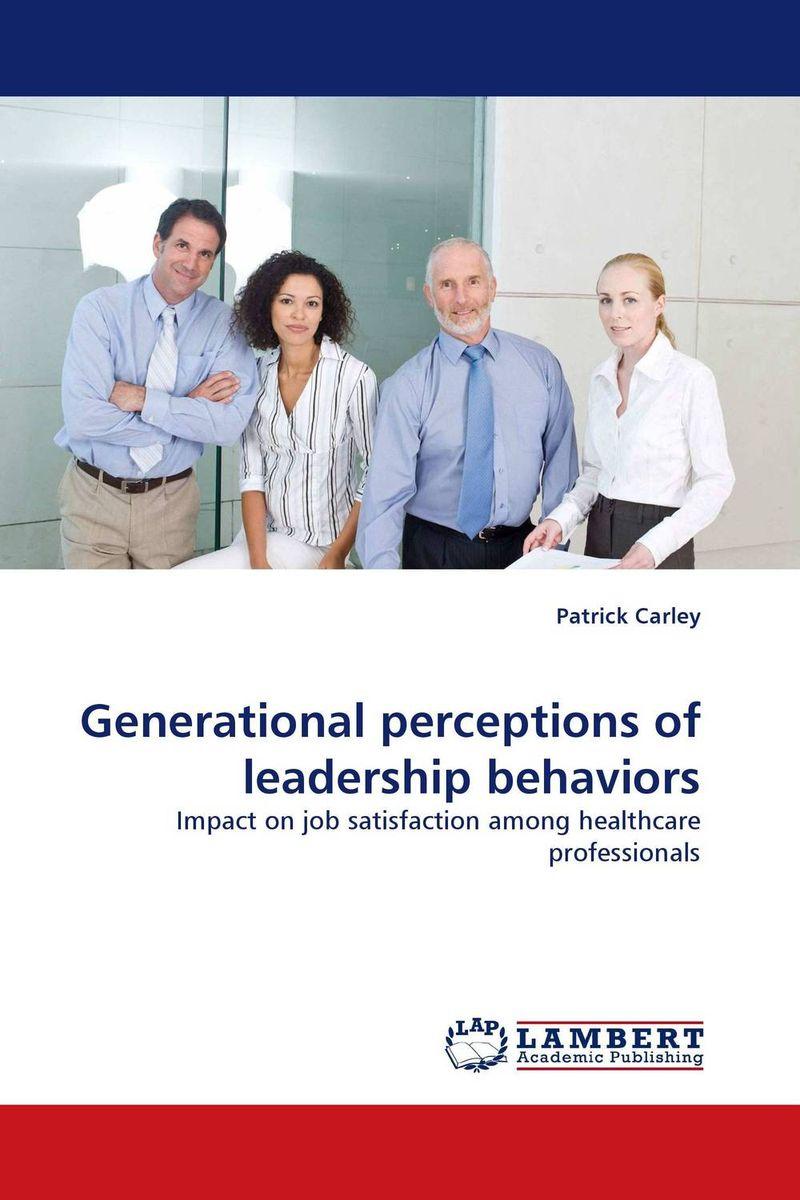 Generational perceptions of leadership behaviors