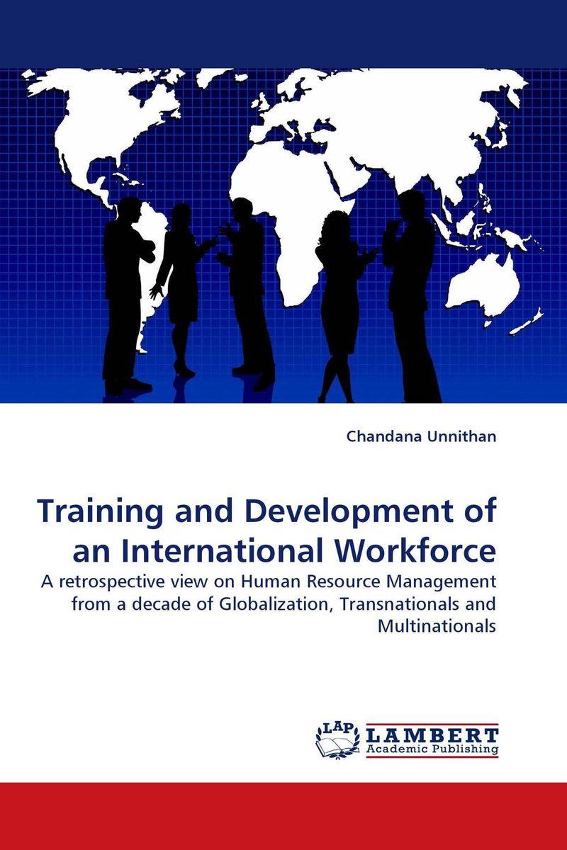 Training and Development of an International Workforce