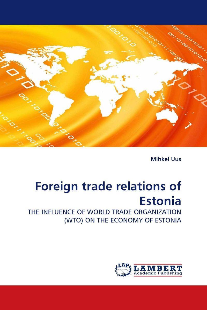 Foreign trade relations of Estonia