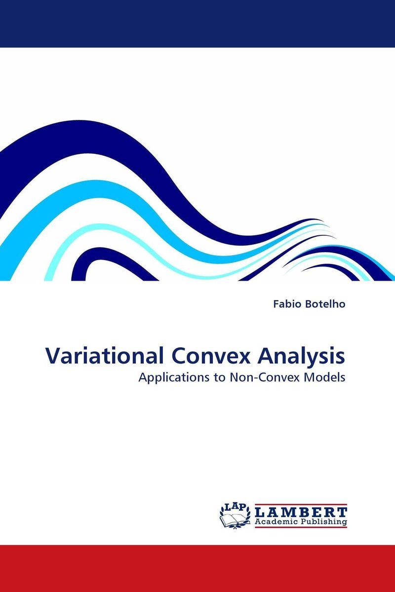 Variational Convex Analysis