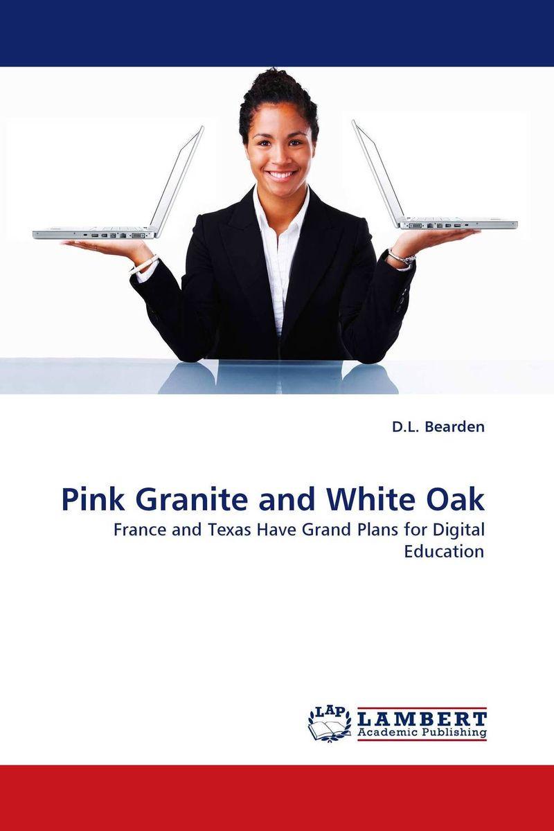 Pink Granite and White Oak