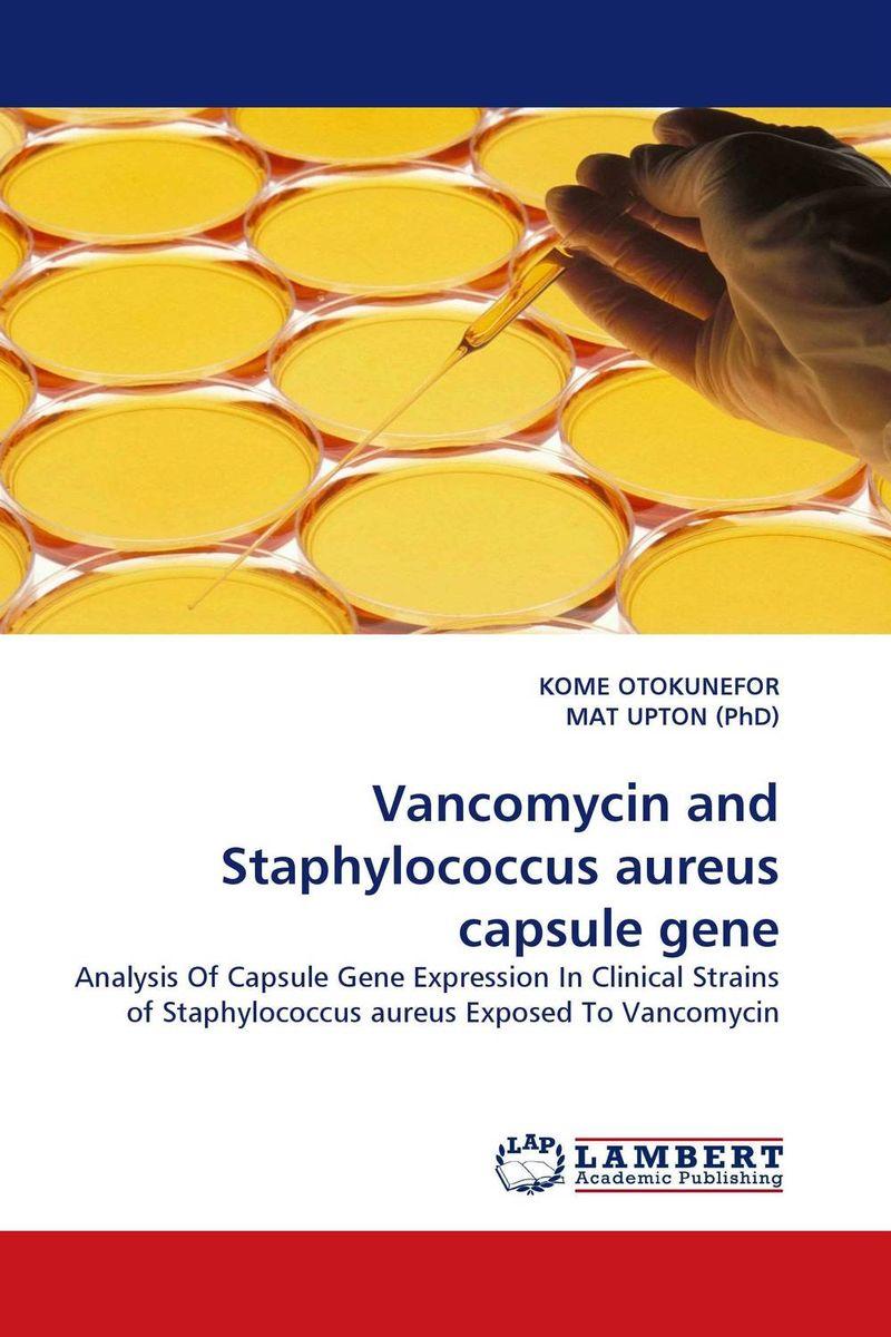 Vancomycin and Staphylococcus aureus capsule gene