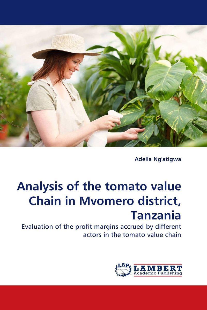 Analysis of the tomato value Chain in Mvomero district, Tanzania
