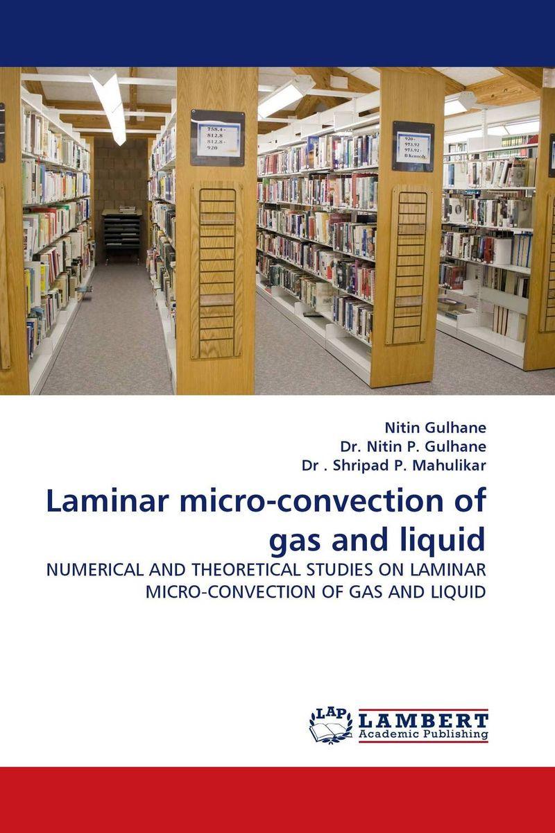 Laminar micro-convection of gas and liquid