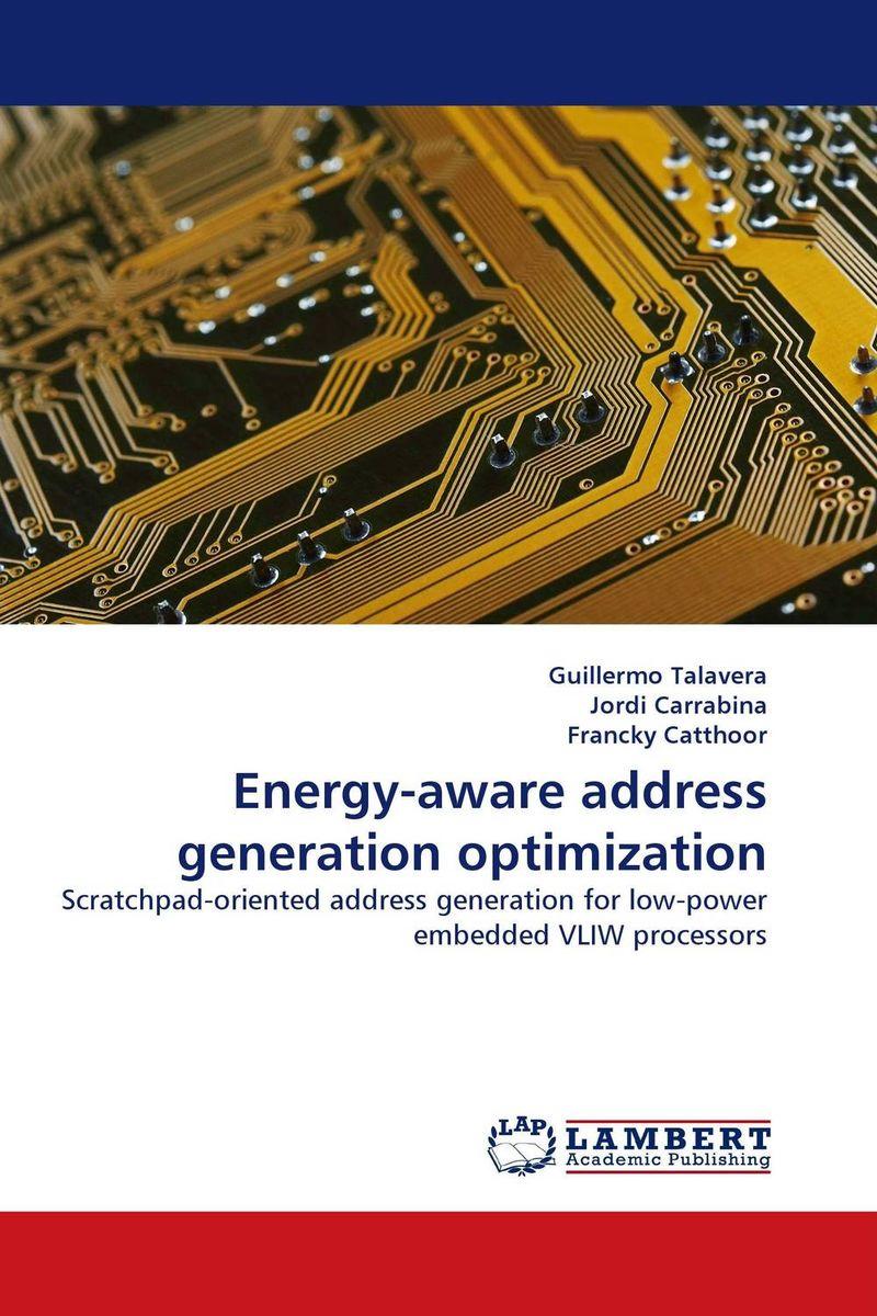 Energy-aware address generation optimization
