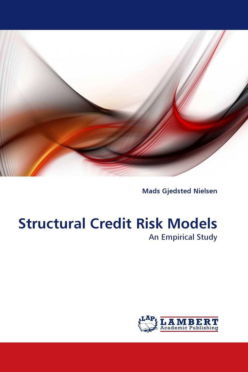 Structural Credit Risk Models