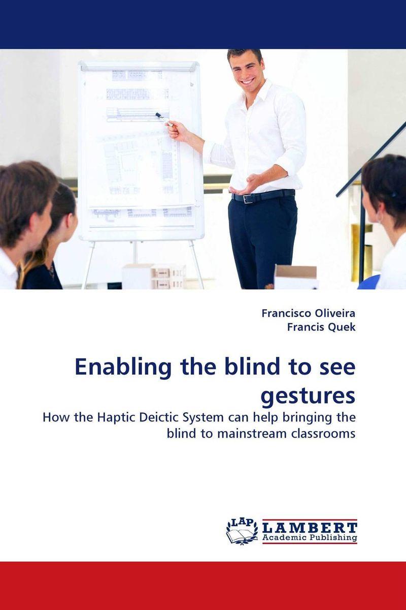 Enabling the blind to see gestures
