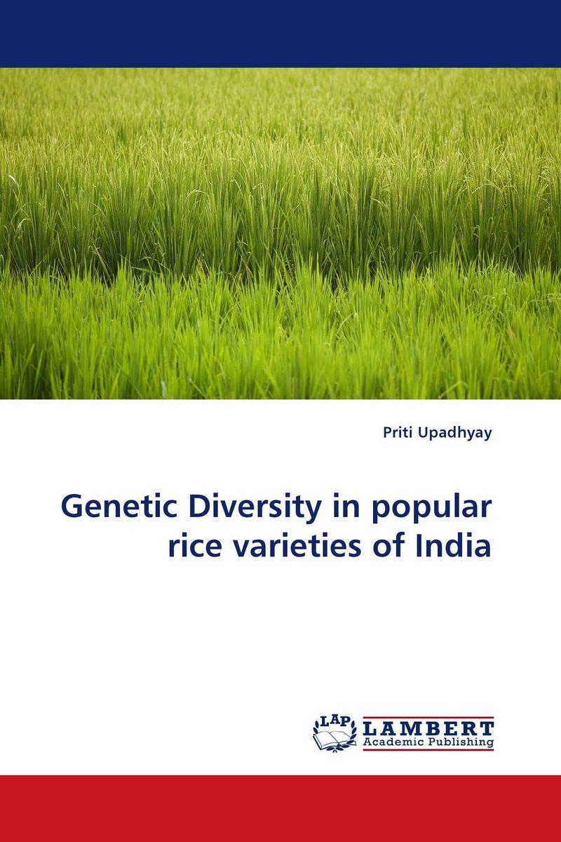 Priti Upadhyay Genetic Diversity in popular rice varieties of India vaishali shami naresh pratap singh and pramod kumar pal morpho physio and genetic diversity analysis on indian wheat genotypes