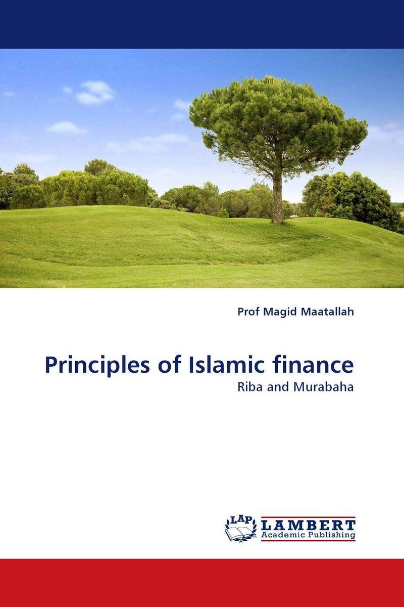 Principles of Islamic finance