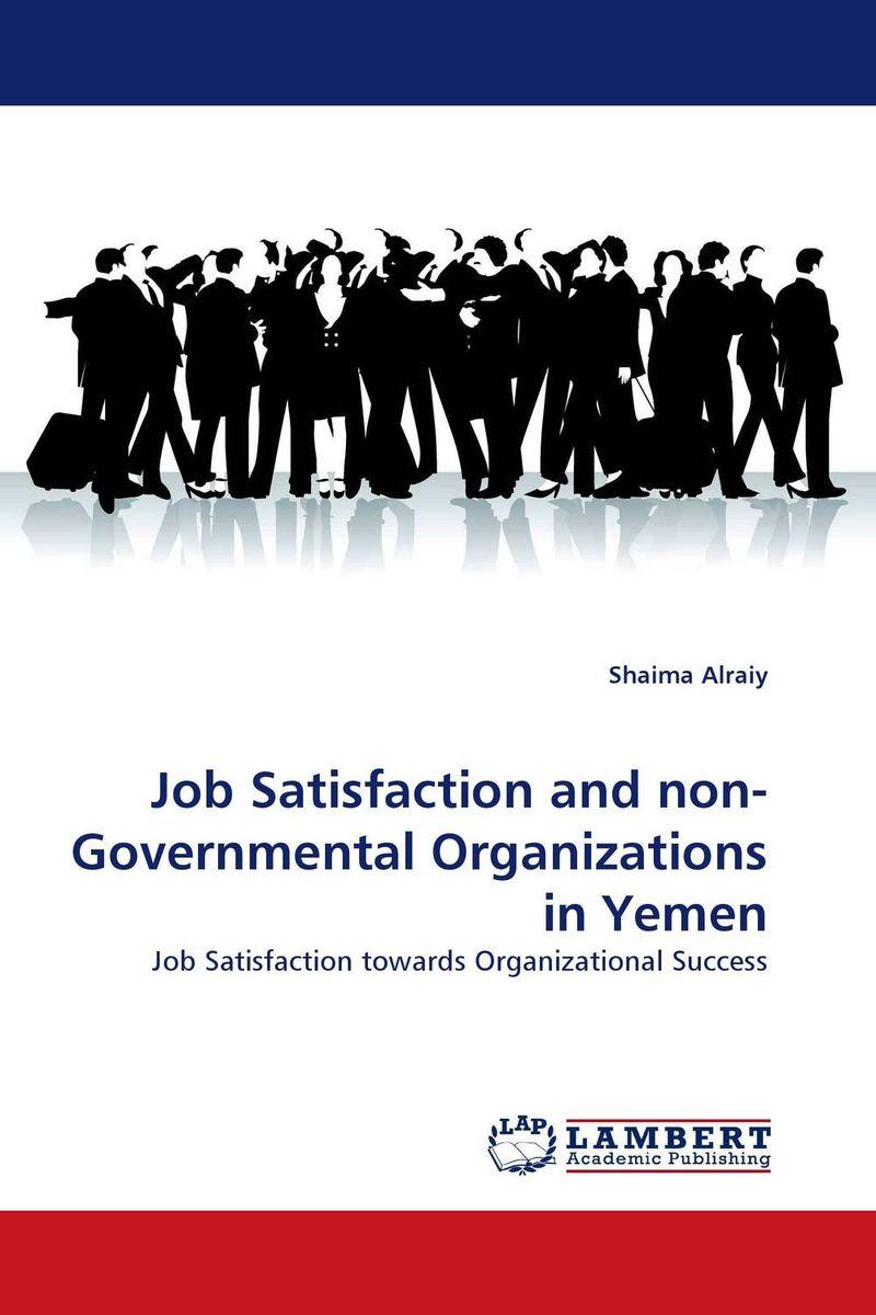 Job Satisfaction and non-Governmental Organizations in Yemen