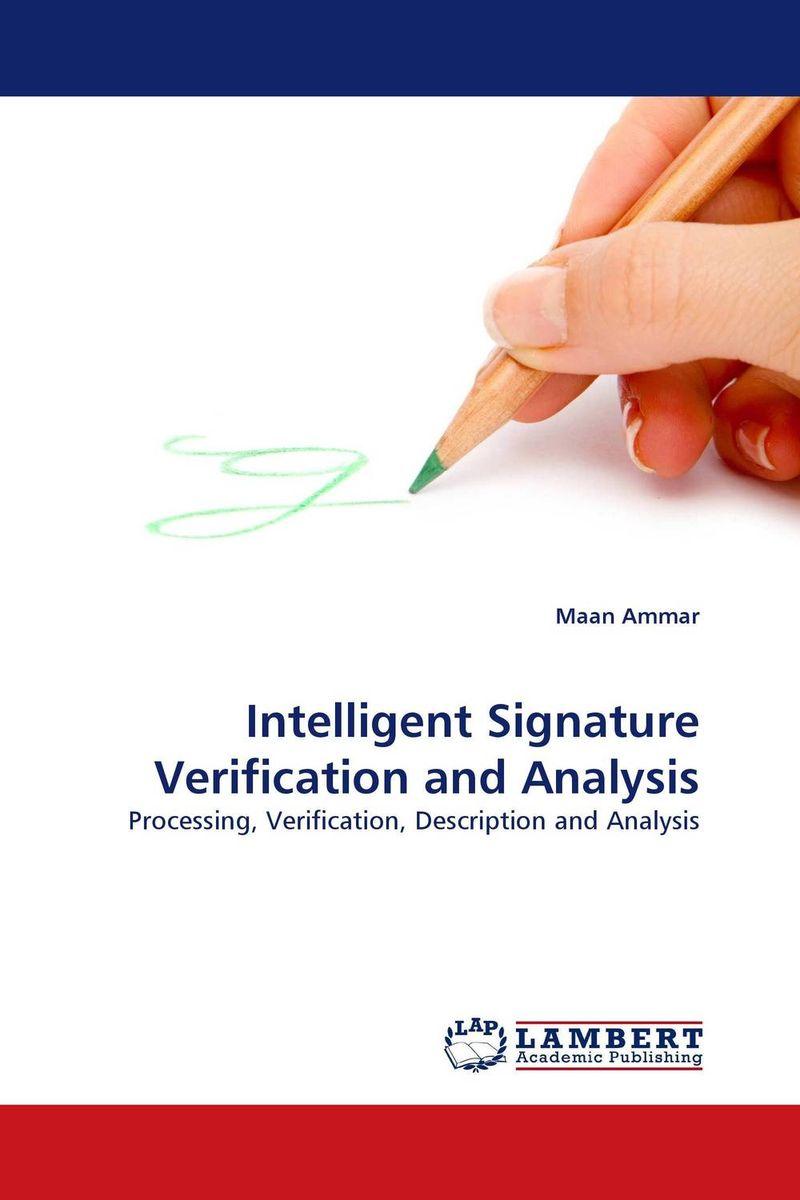 Intelligent Signature Verification and Analysis