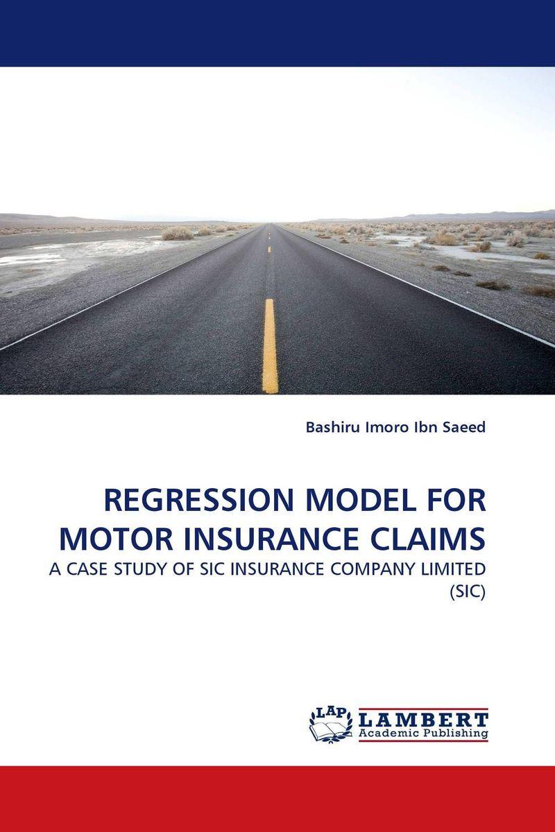 Bashiru Imoro Ibn Saeed REGRESSION MODEL FOR MOTOR INSURANCE CLAIMS вертикуттер al ko comfort 38 e combi care