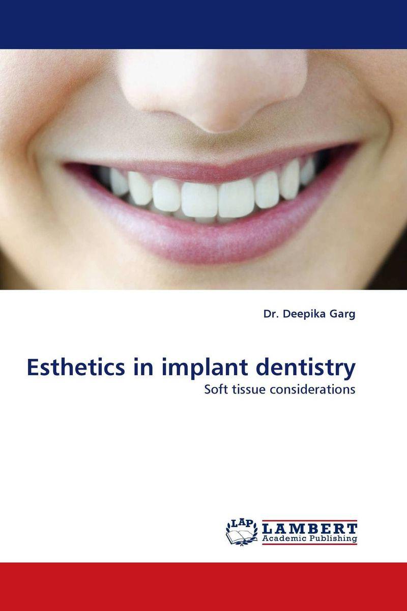 Esthetics in implant dentistry